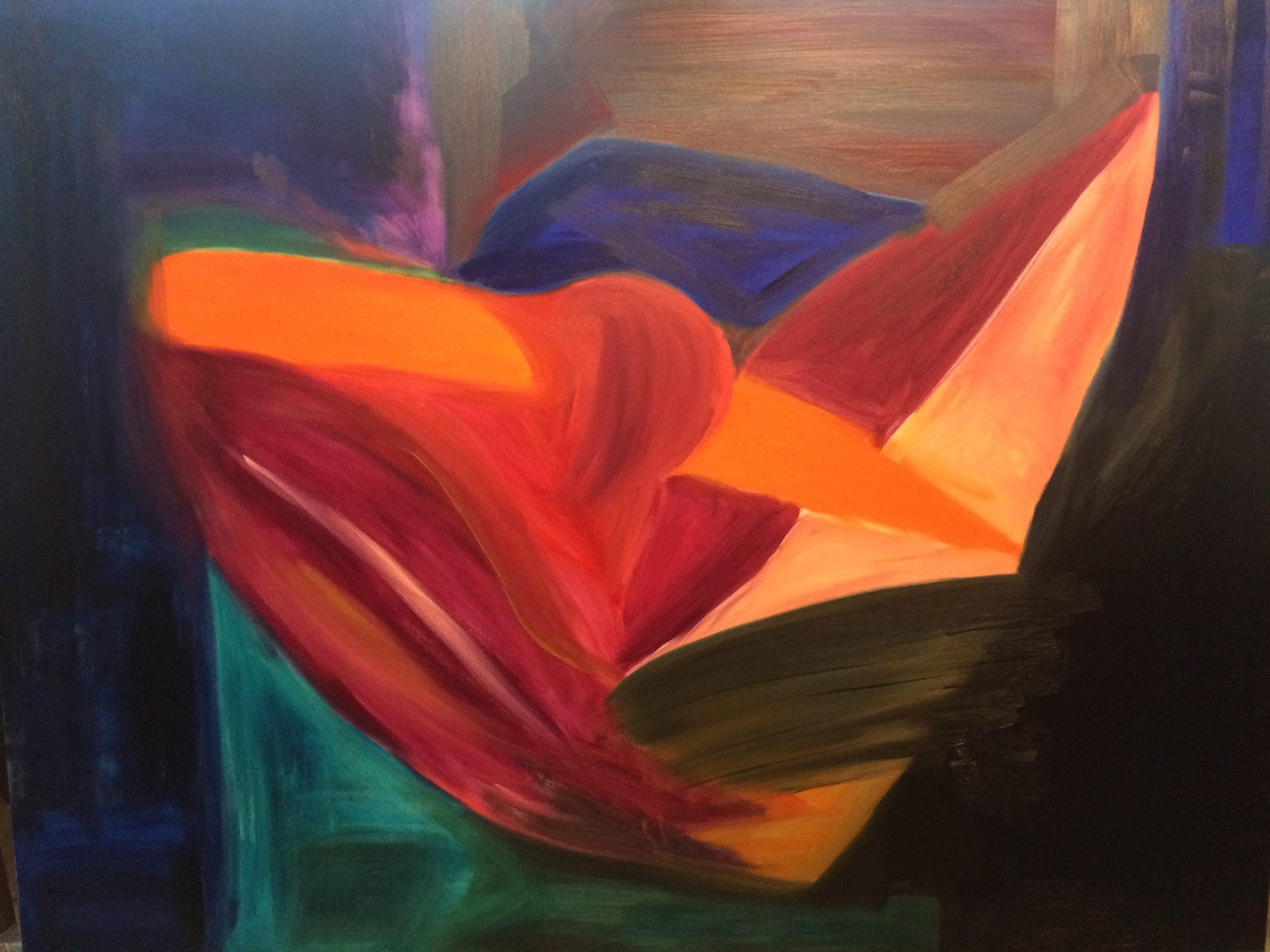 'FEMINA' 160x120 oil on canvas   (in progress)