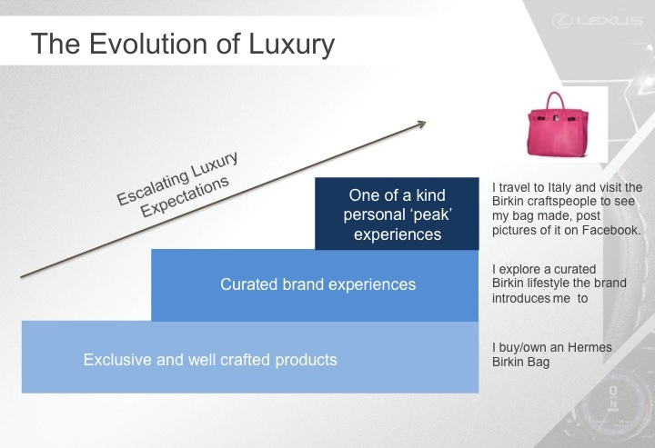 "Source: Luxury ""Trend Trek,"" Luxury Expert Salons, Global Qualitative Research"