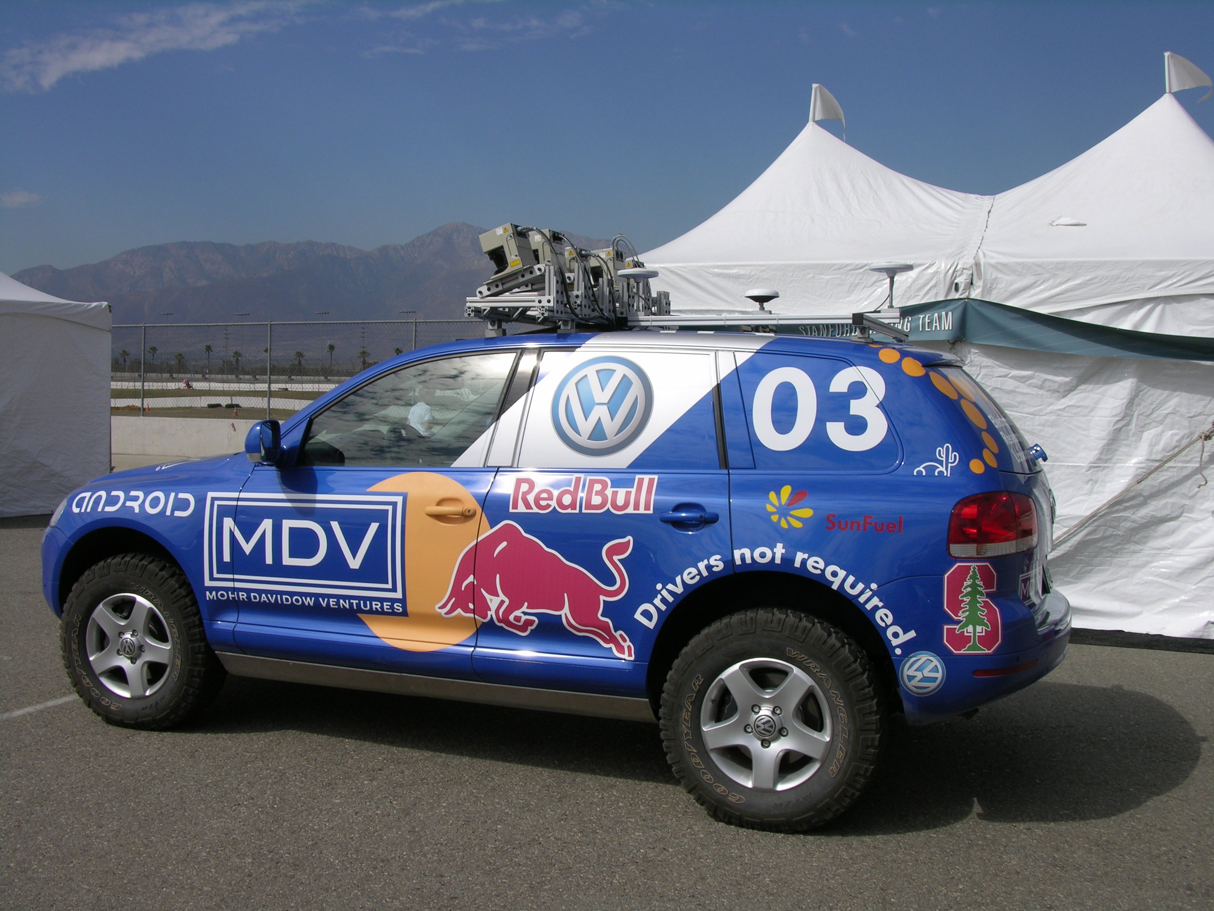 From the 2005 Grand Challenge at the California Speedway. Source: CC licensed    Flickr    image.