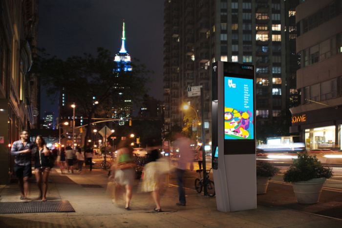 Source:    computerworld.com   , New York City Smart Kiosk on the street