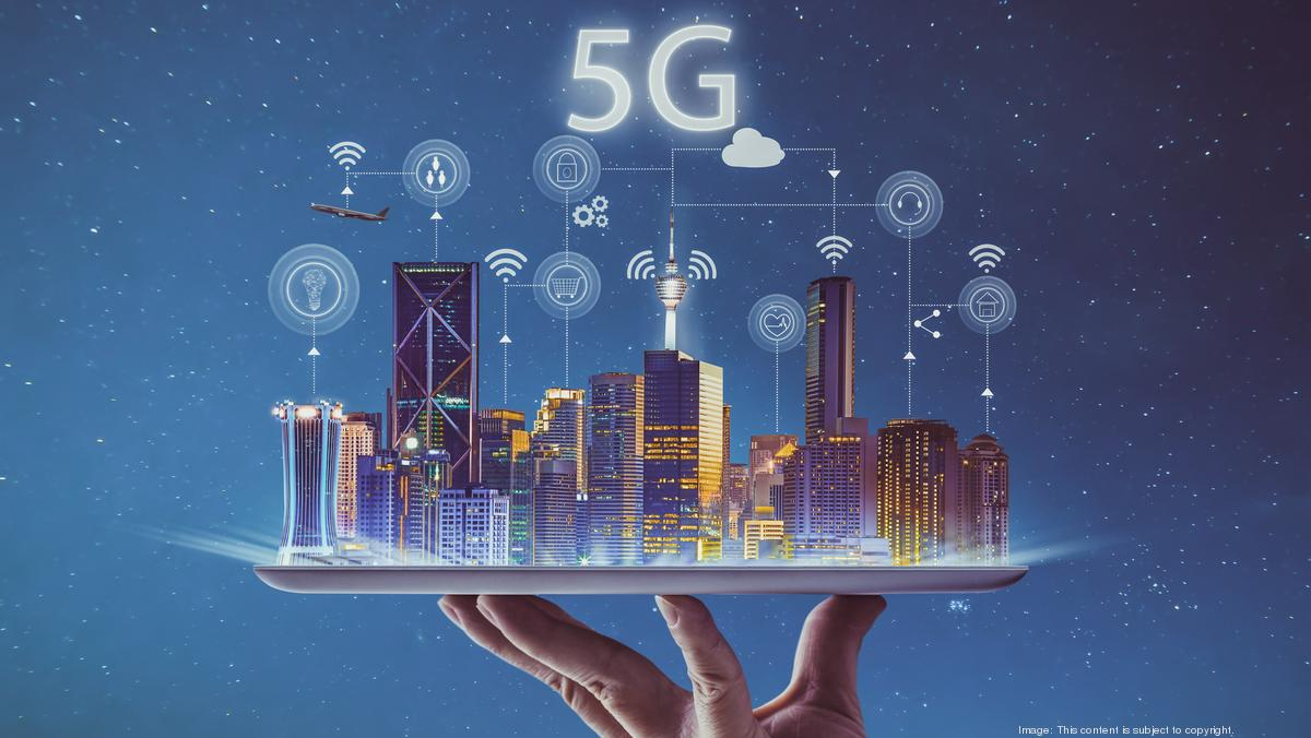 5G Graphic. Credit:    GettyImages by James Teohart