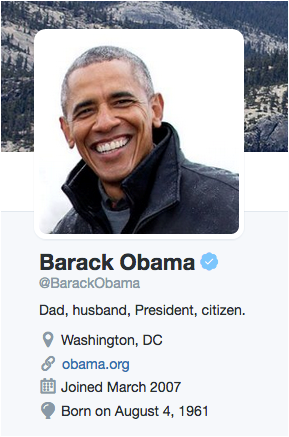 BarackObamaTwitter
