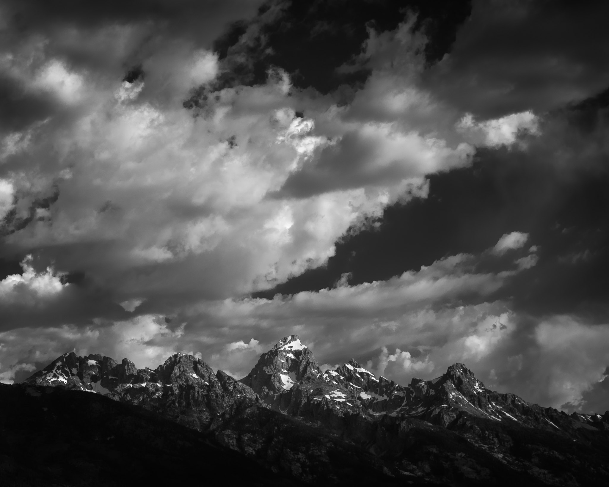 A look behind the scenes of my thought process when creating my image, 6000 Feet, of the Grand Teton Mountains in Wyoming, USA
