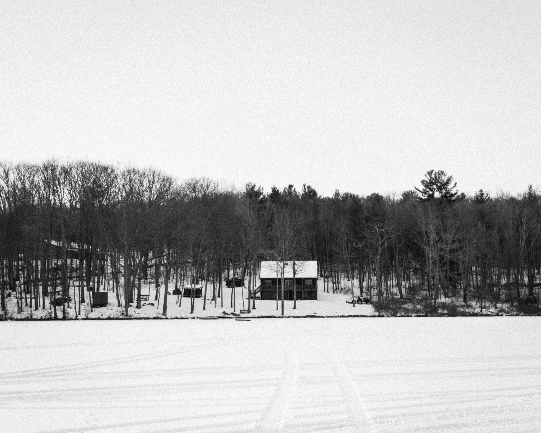 in truth, i have struggled to capture even a half-decent image of the family cabin; this is just one of my many attempts