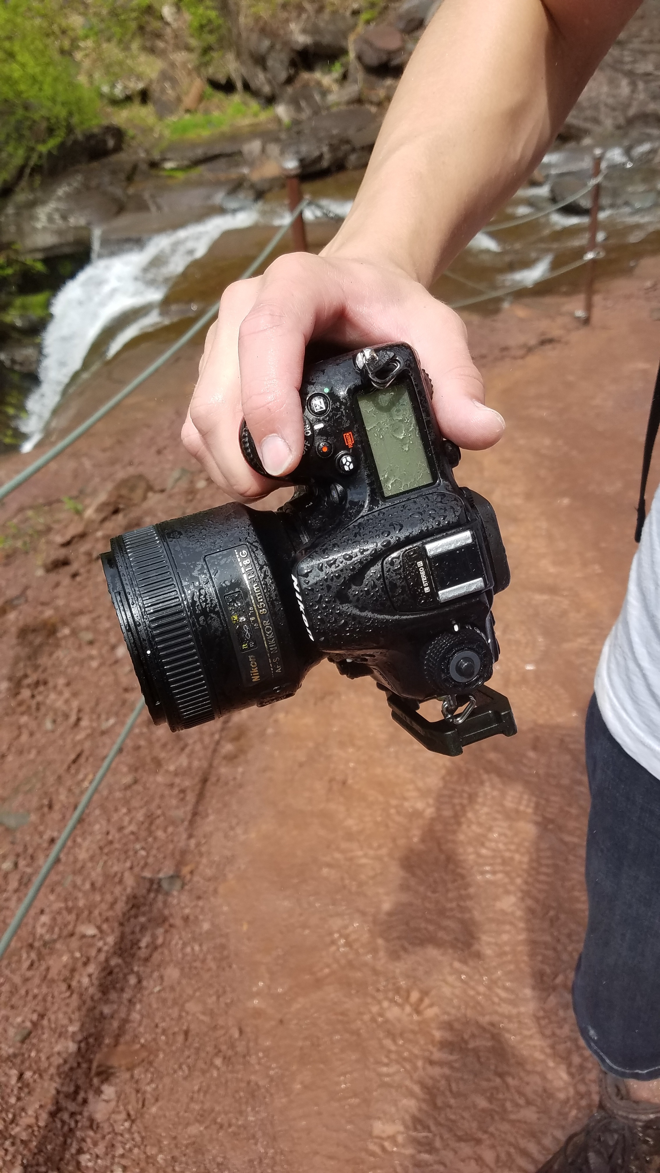 this camera has taken a beating over the past two or so years  credit:  melanie olivieri
