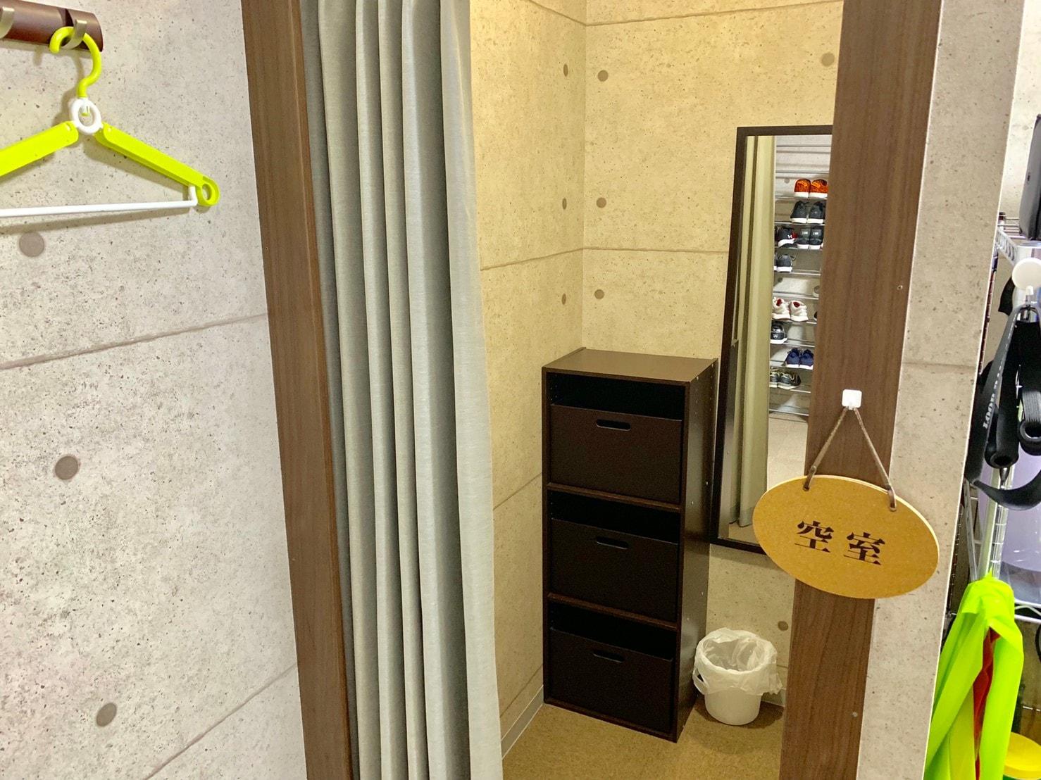 THE PERSONレンタルジム川崎 更衣室.jpg