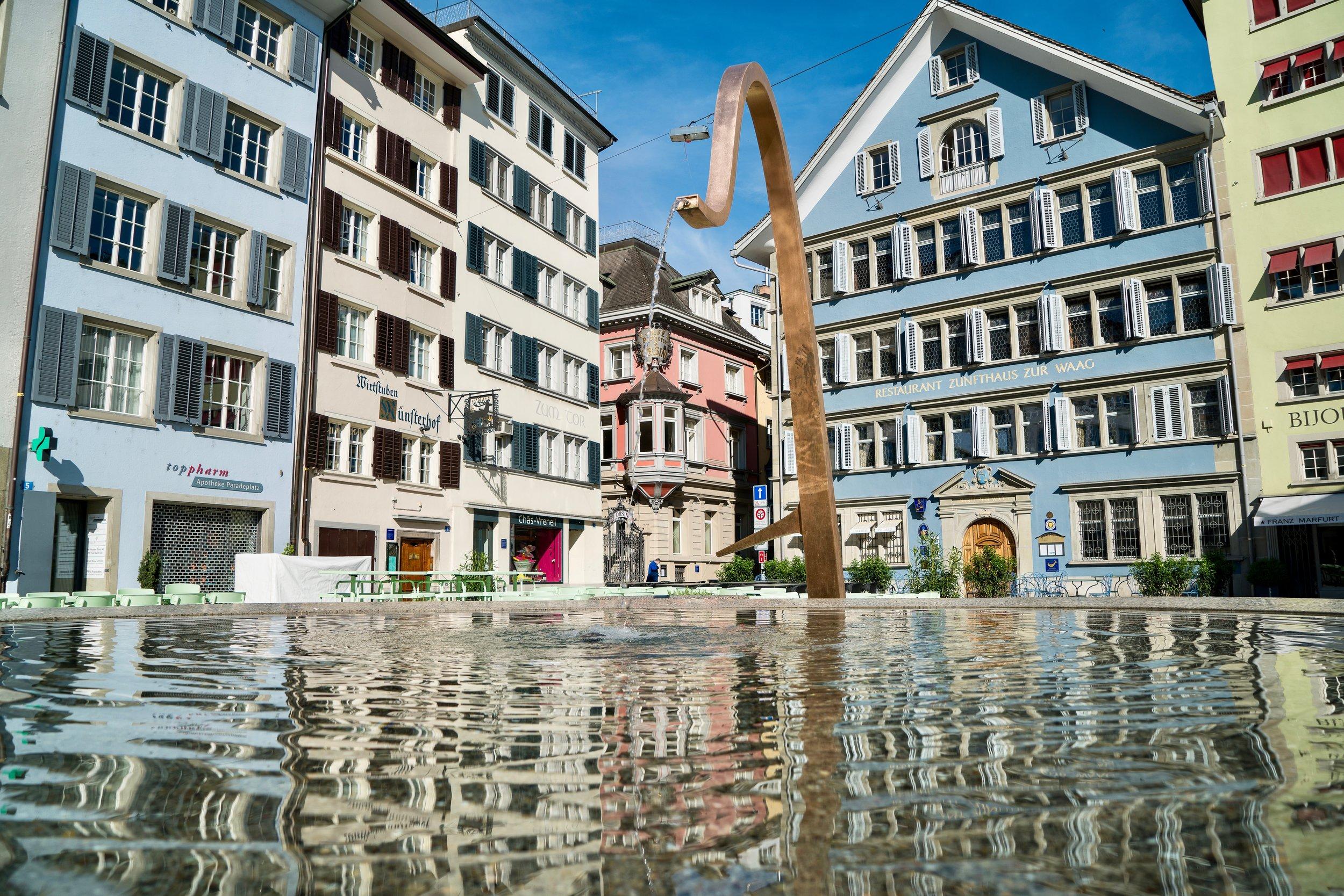 Fraumünster Platz, Zurich