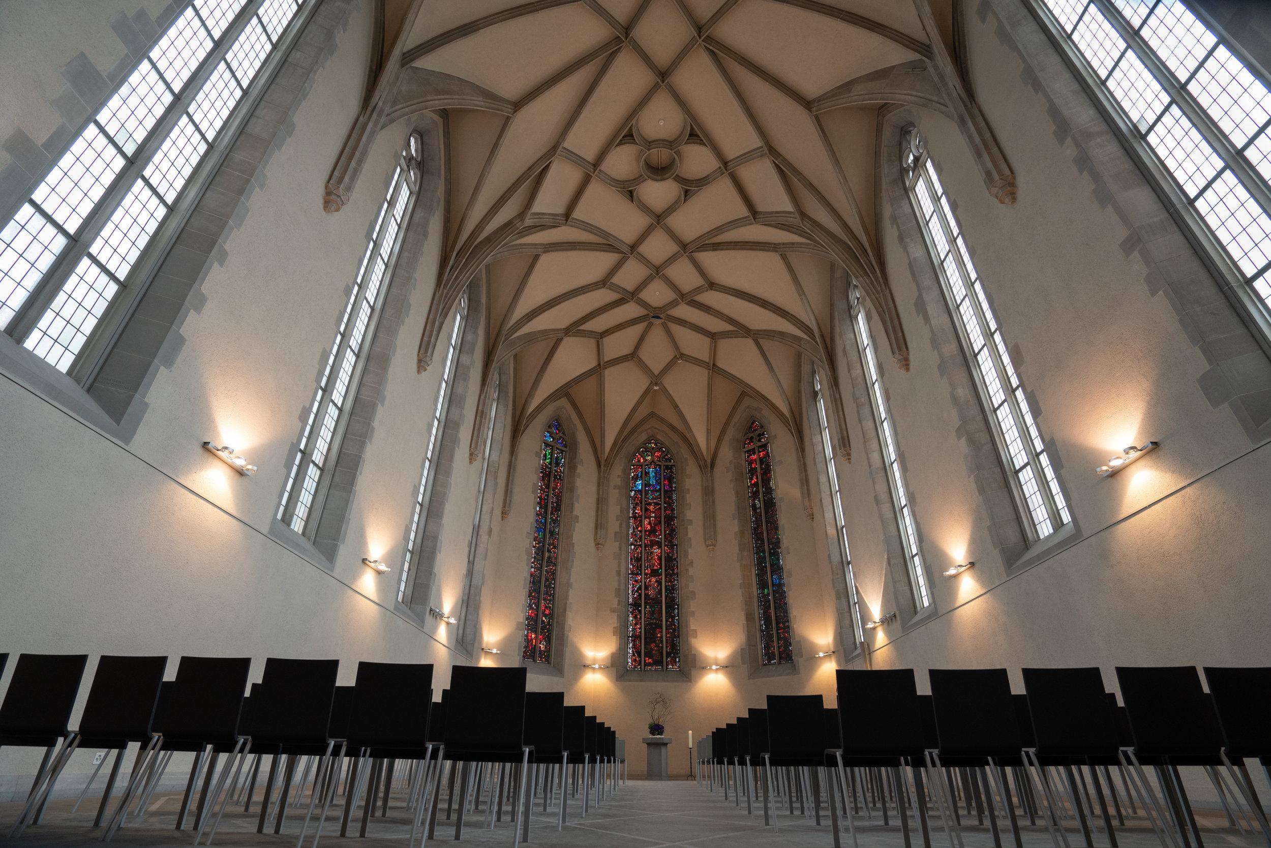 Water Church Zurich