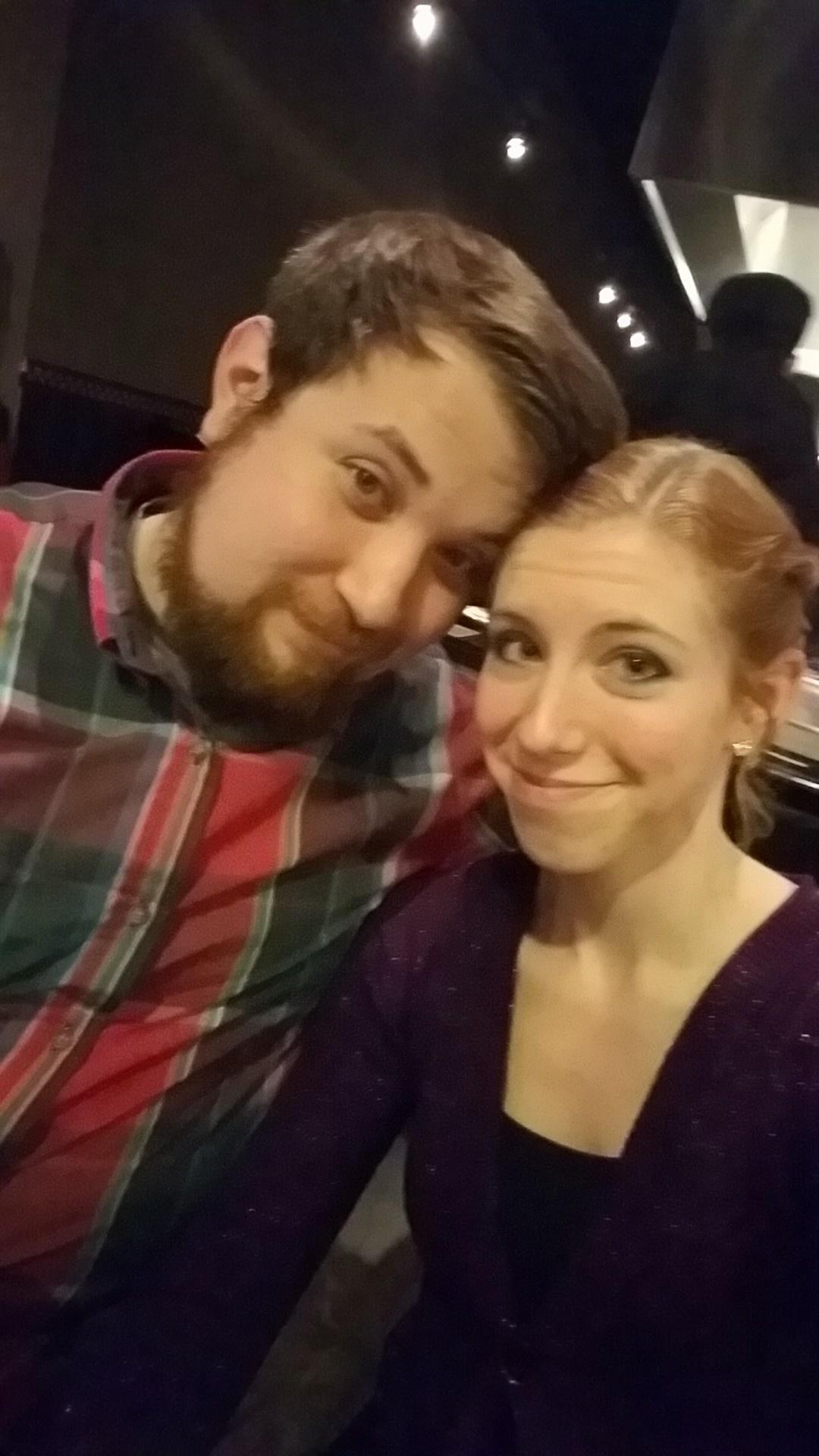 Awkward Selfie at Hibachi Dinner