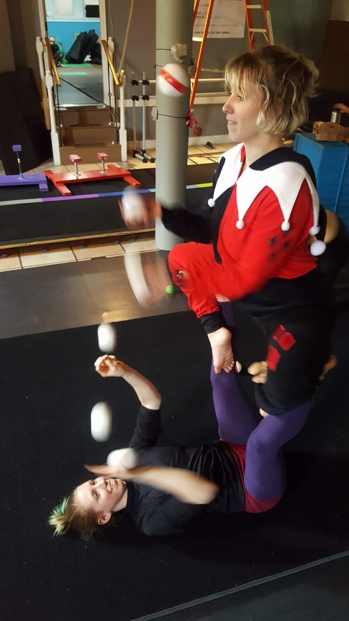Juggling with Mackenzie