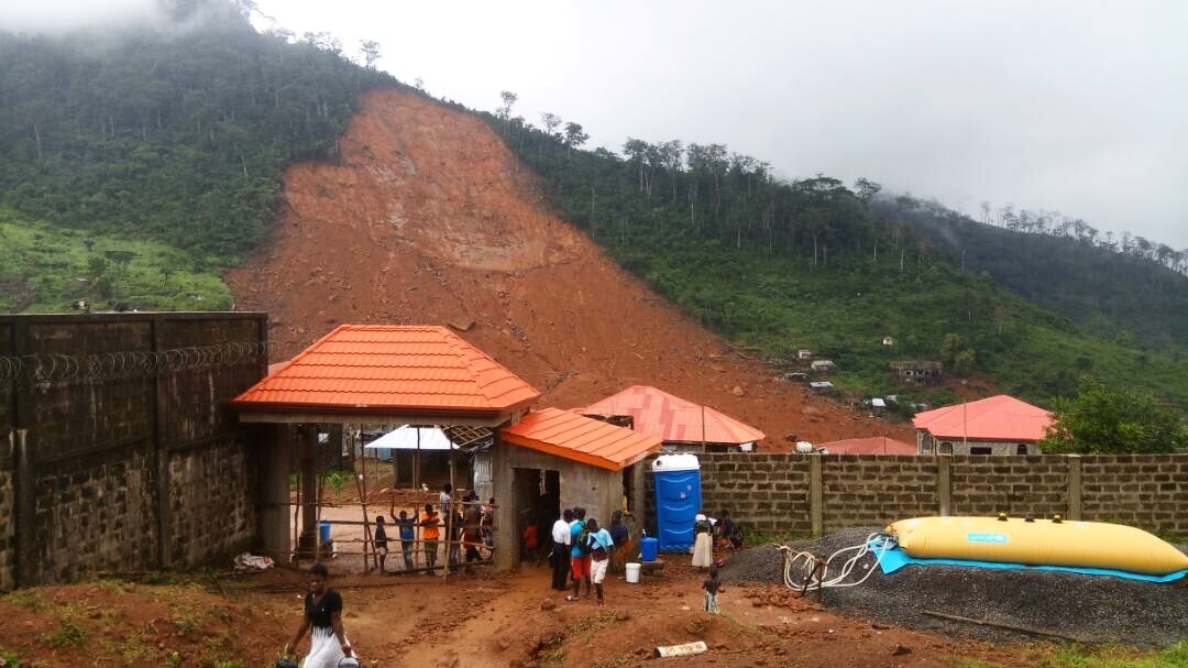 Freetown Mudslide - How technology prevented a cholera outbreak in 72 hours.
