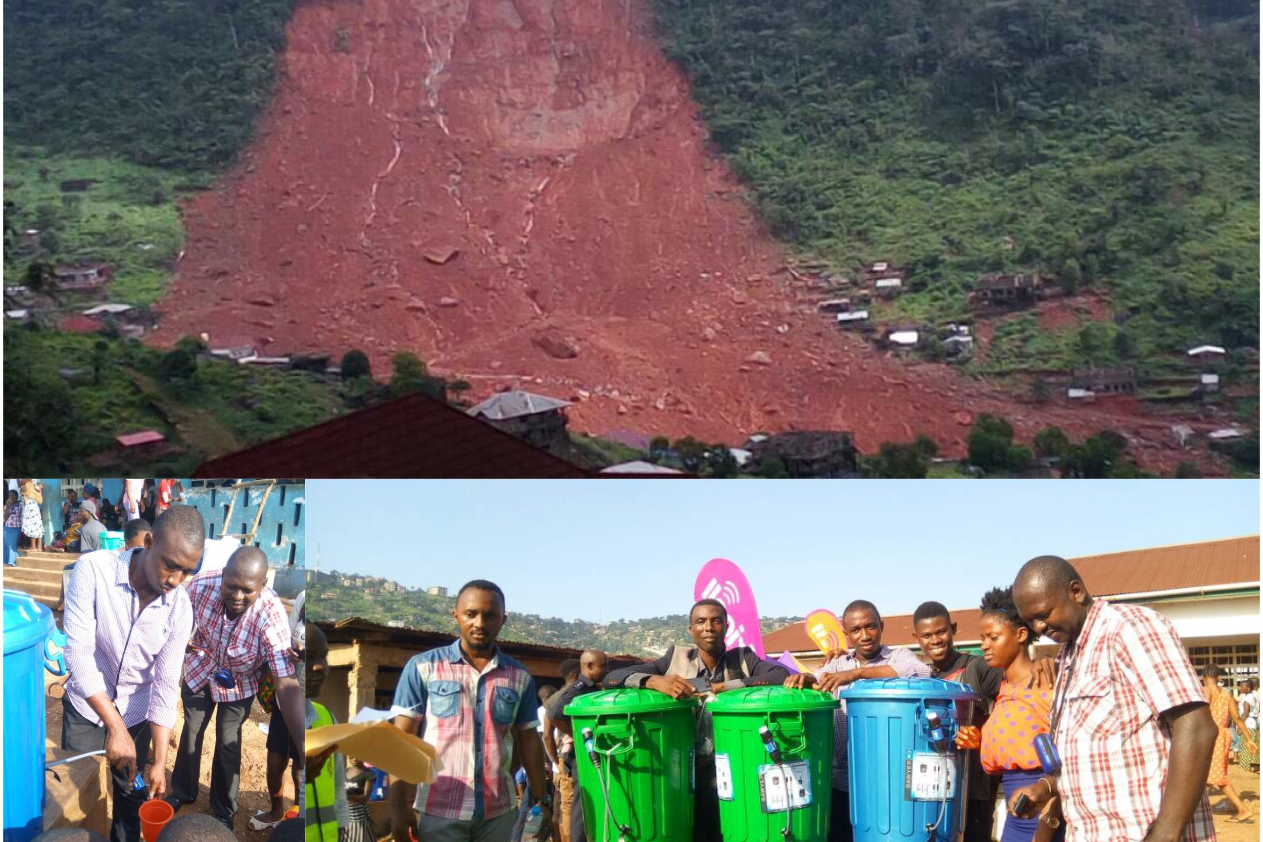 TVL-Freetown 8.2017 Mudslide Relief