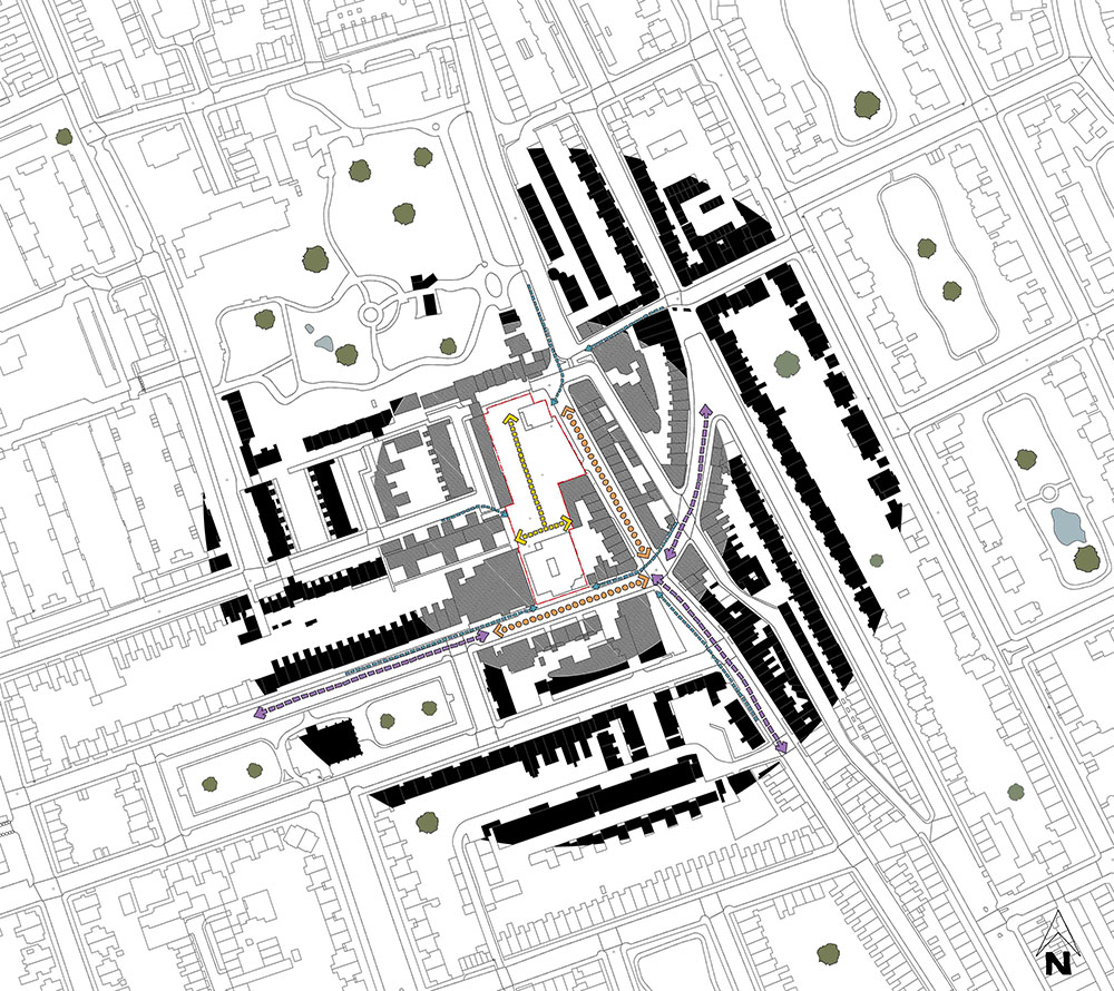 Architectural Site Analysis Diagram Access 04.jpg