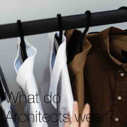What Do Architects Wear?   A look at what architects wear to work, how to appropriately dress like one, and how to dress like an architecture student...