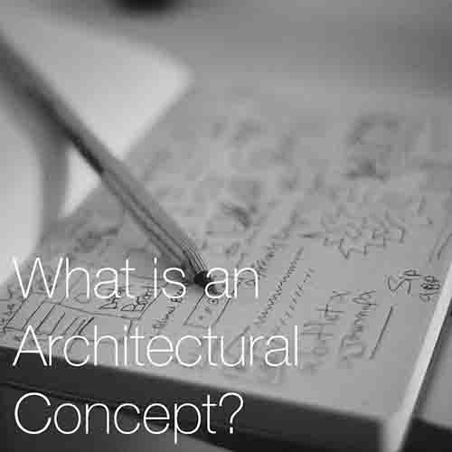 What is an Architectural Concept?   In architecture a concept gives the architect a clear direction and framework for making their design decisions; it provides a methodology to the thinking process...