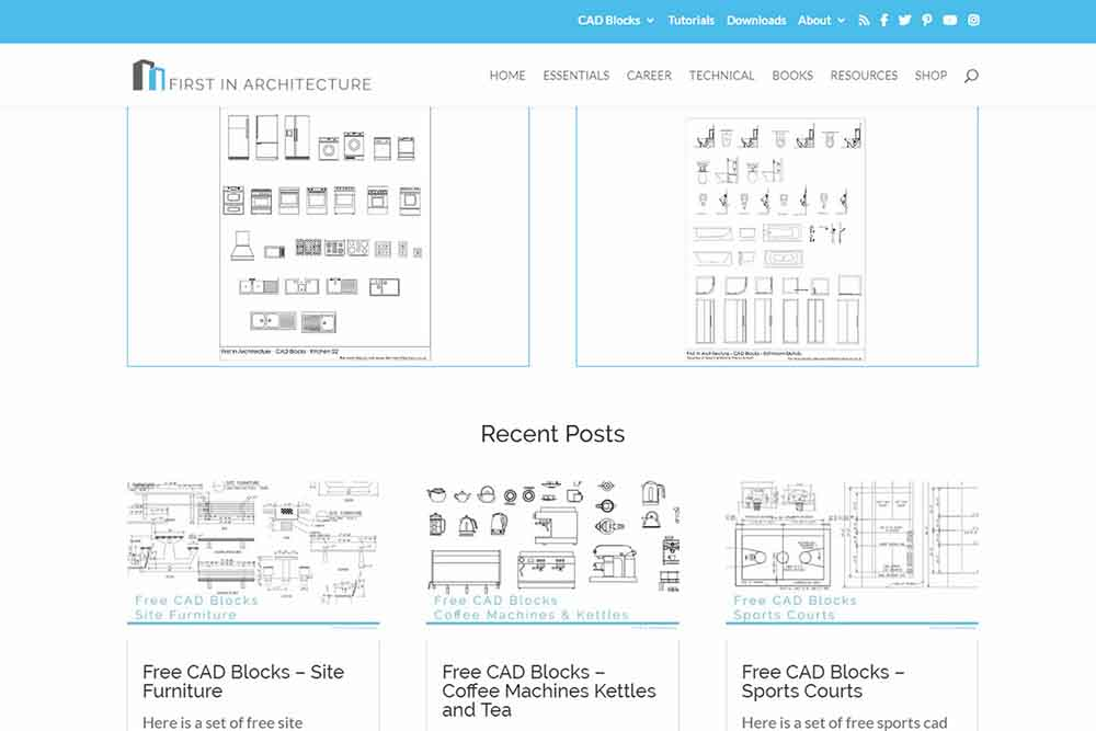 The only 5 free CAD block sites you'll ever need — Archisoup