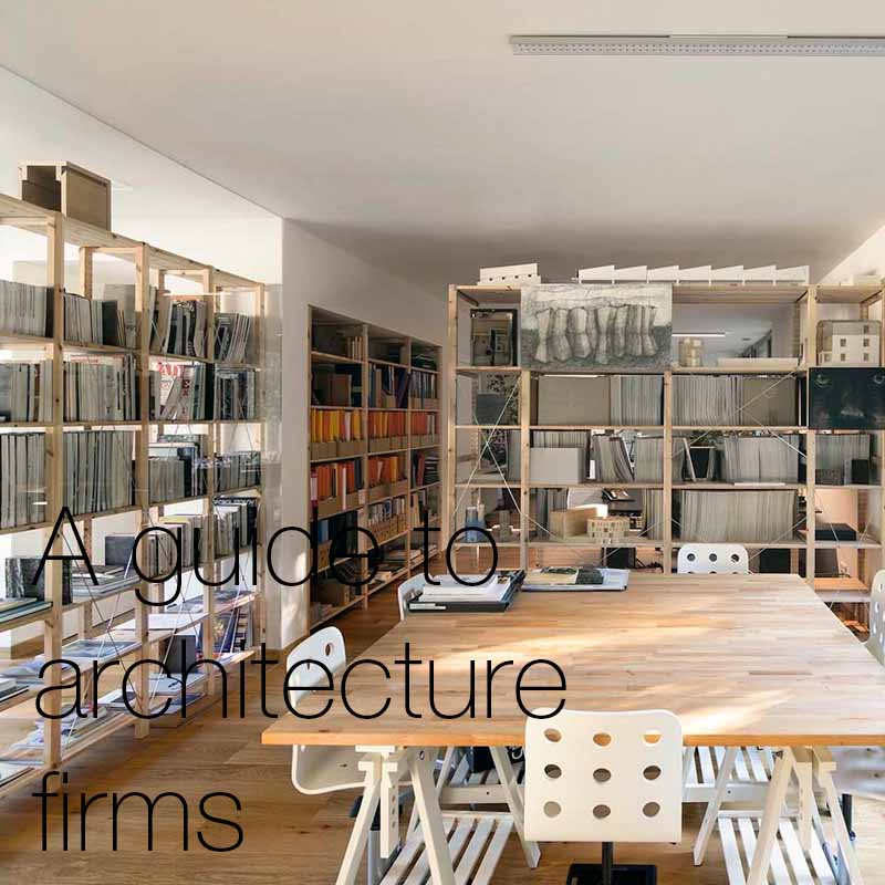A guide to architecture firms   Here we will delve into the mechanics and workings of an architecture firm, and discuss what makes them such exciting places to work.