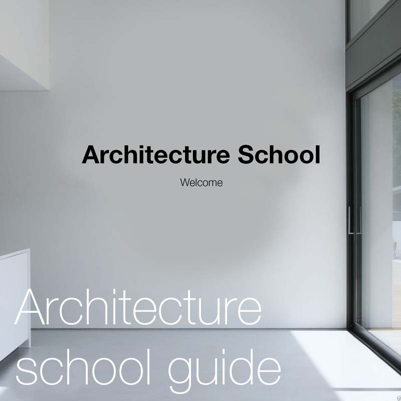 Guide to architecture school    This guide discusses everything you need to know and expect in architecture school.