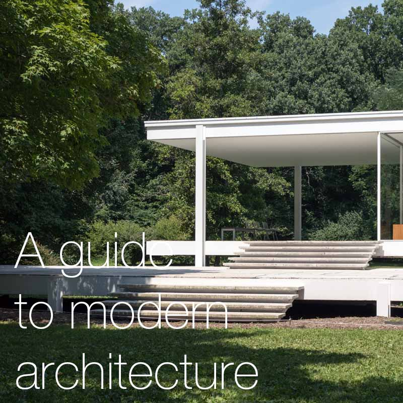 A guide to modern architecture    This article will take a deep dive into the topic of modern architecture, defining what it is, its origins and history, and its characteristics