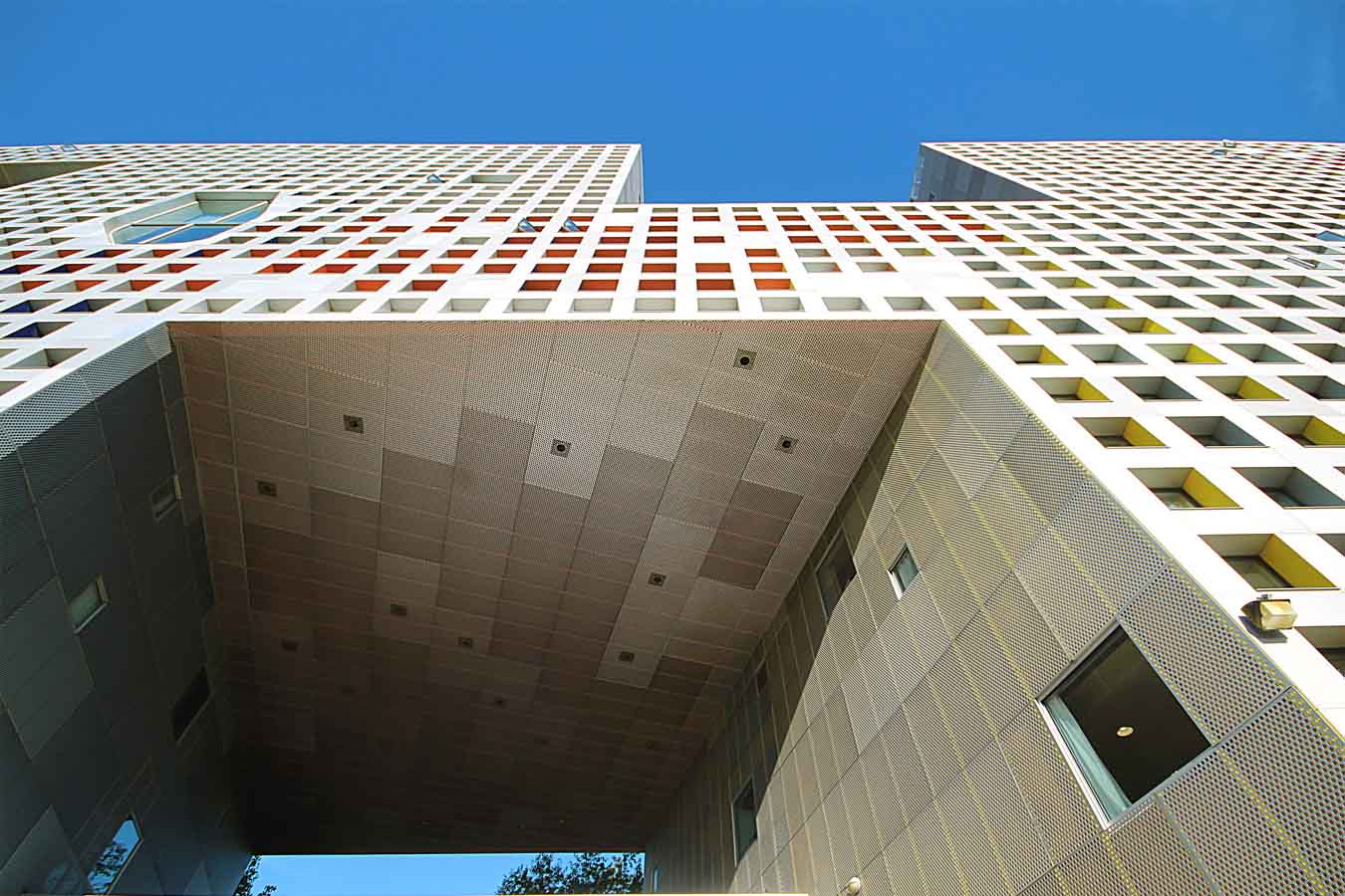 Simmons Hall, MIT, Cambridge