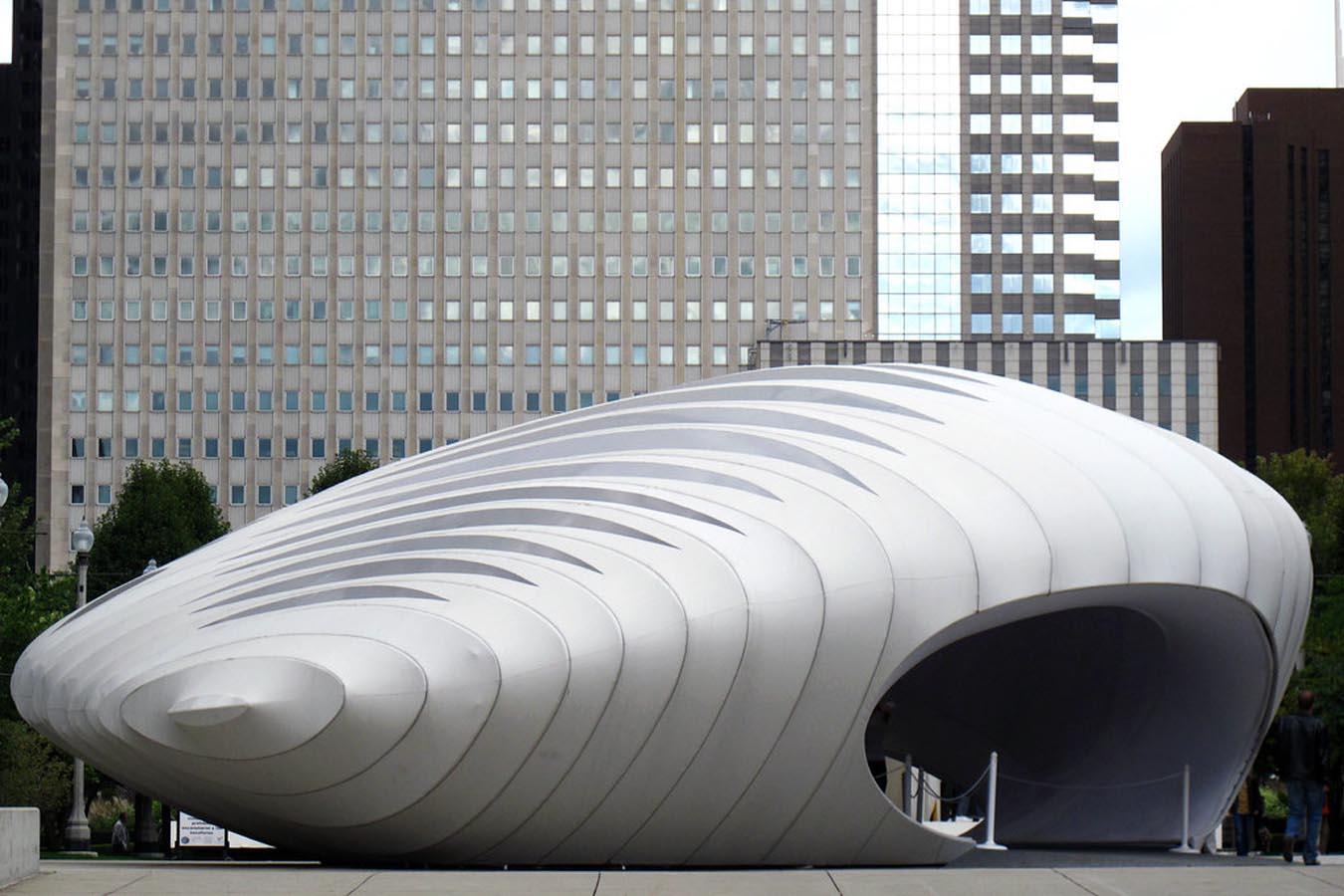 The Burnham Pavilion, China