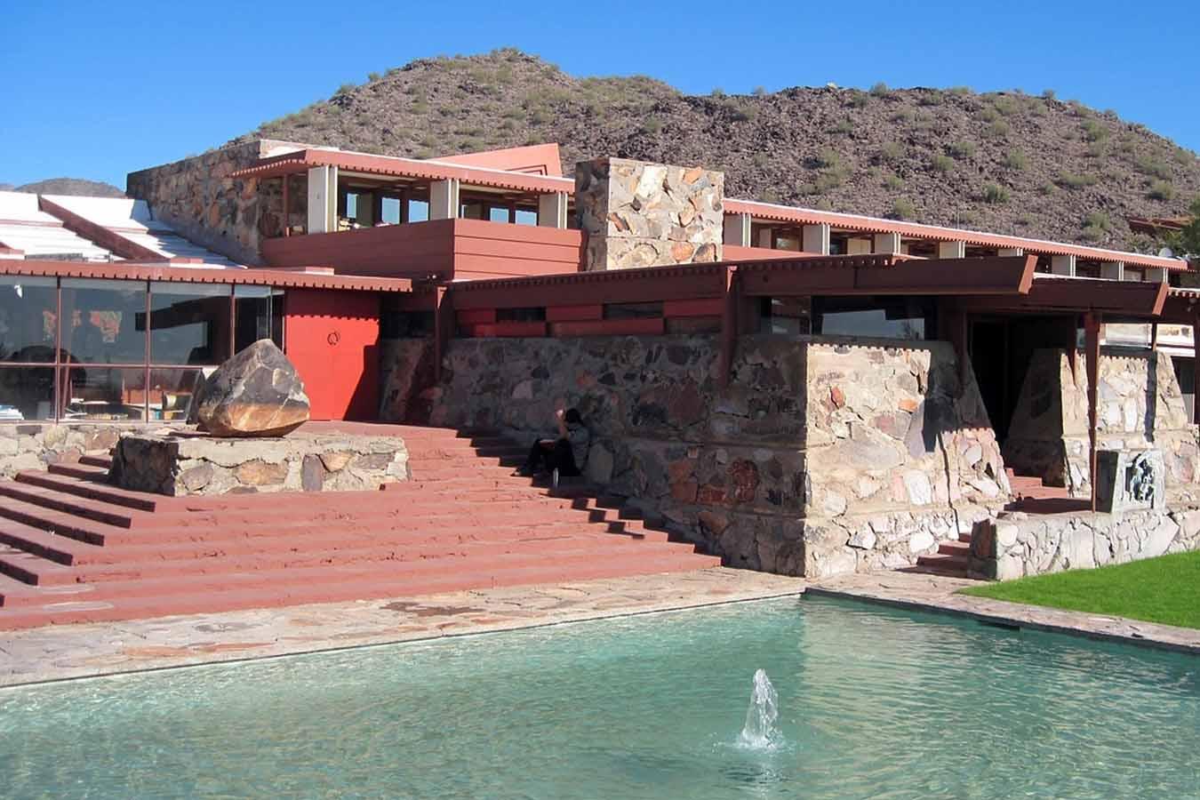 Frank Lloyd Wright, Taliesin West, Scottsdale Arizona