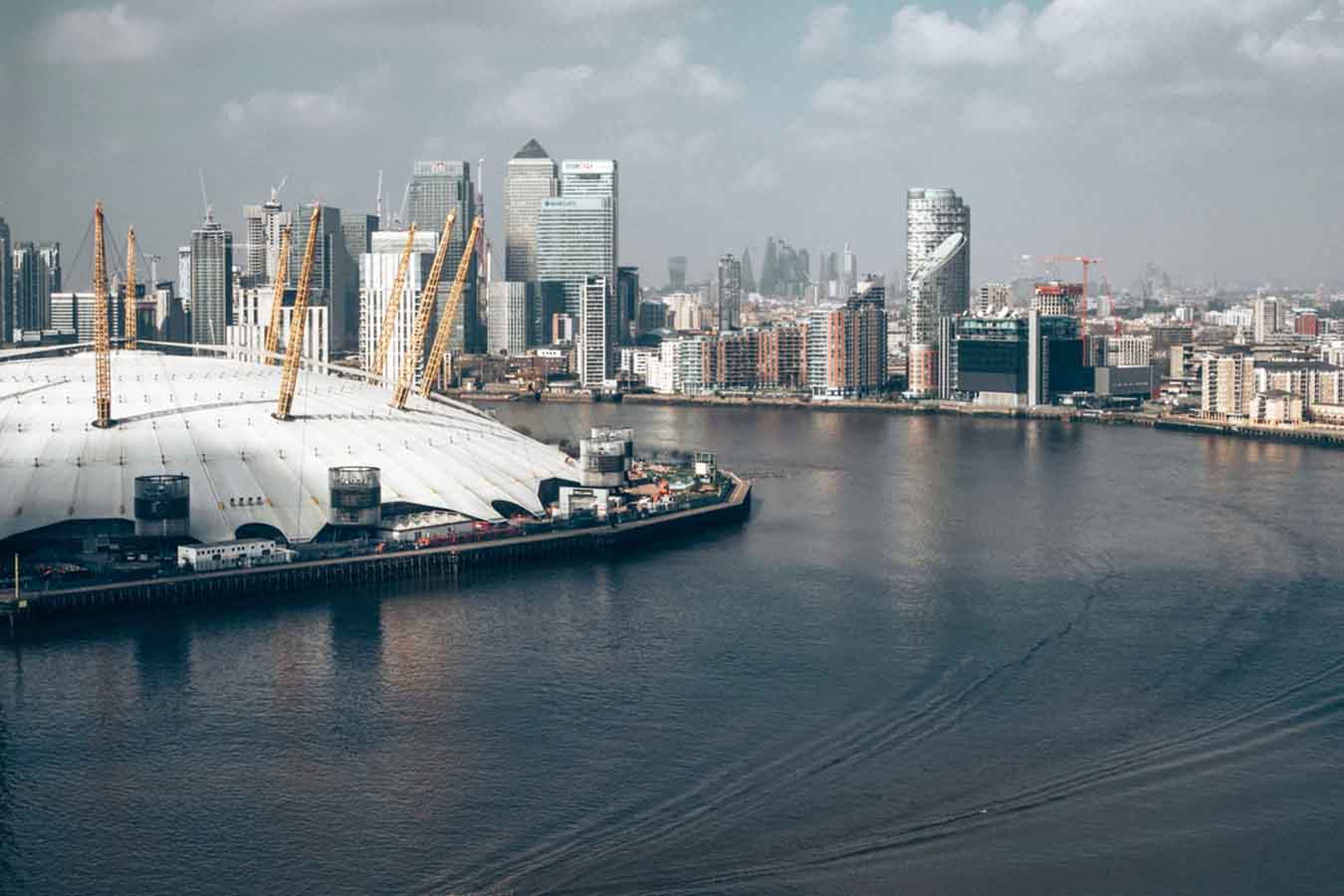 Millennium Dome. London, UK