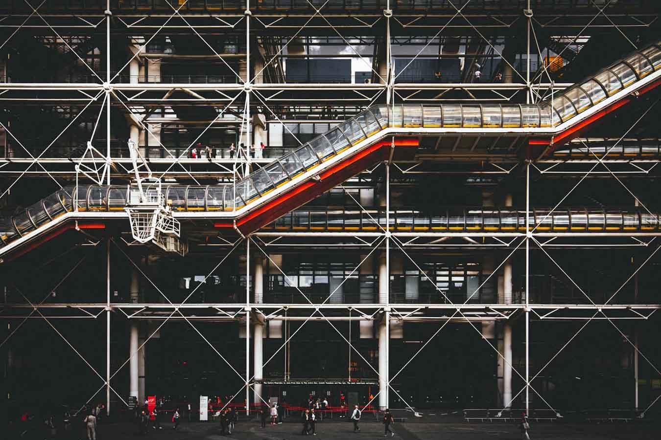 Pompidou Center, Paris, France