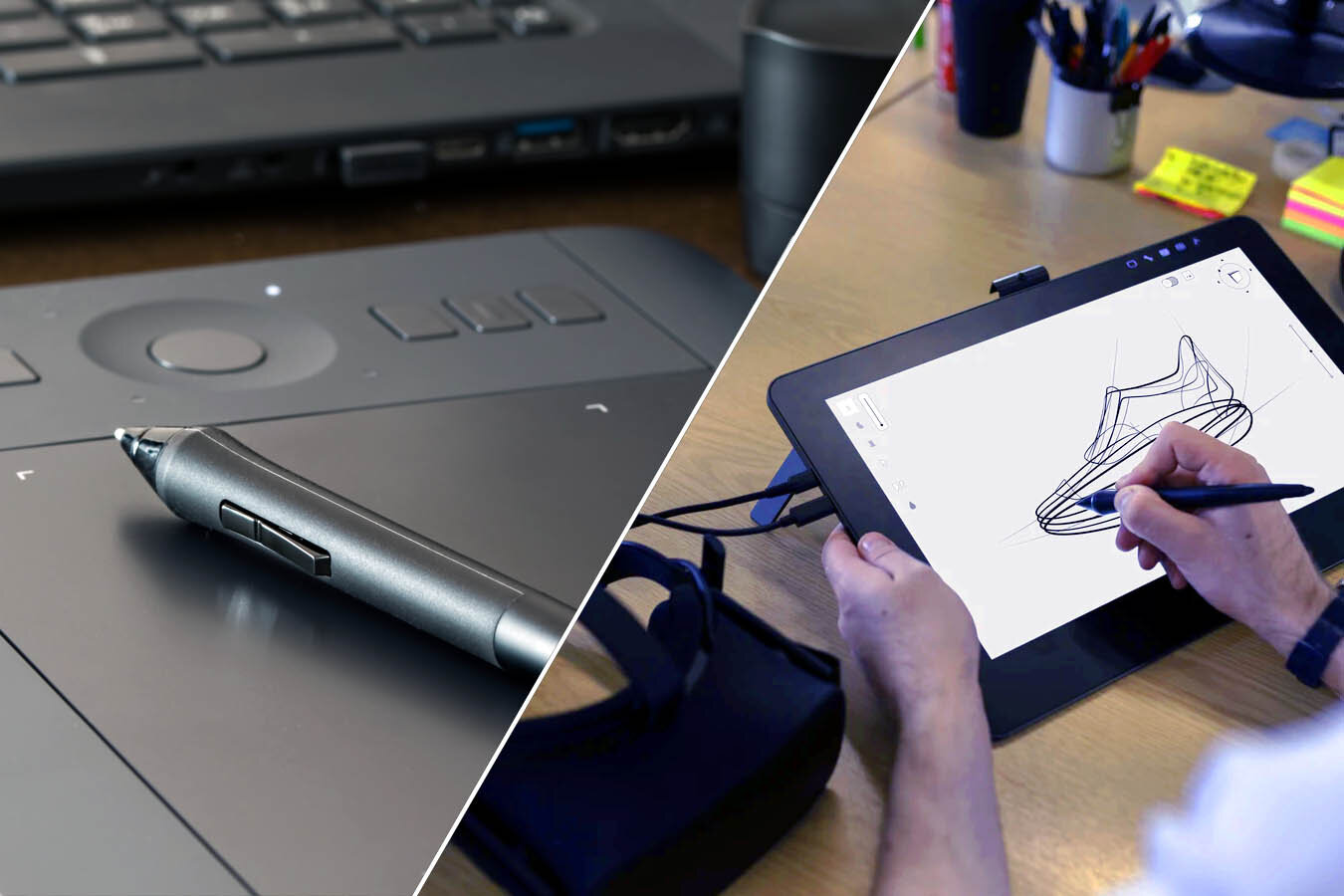 Graphics Tablets Vs Drawing Tablets (Pen Displays) — Archisoup    Architecture Guides & Resources
