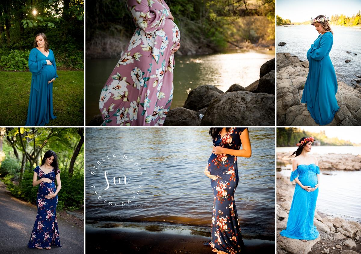 Lake Oswego Portrait Maternity Session