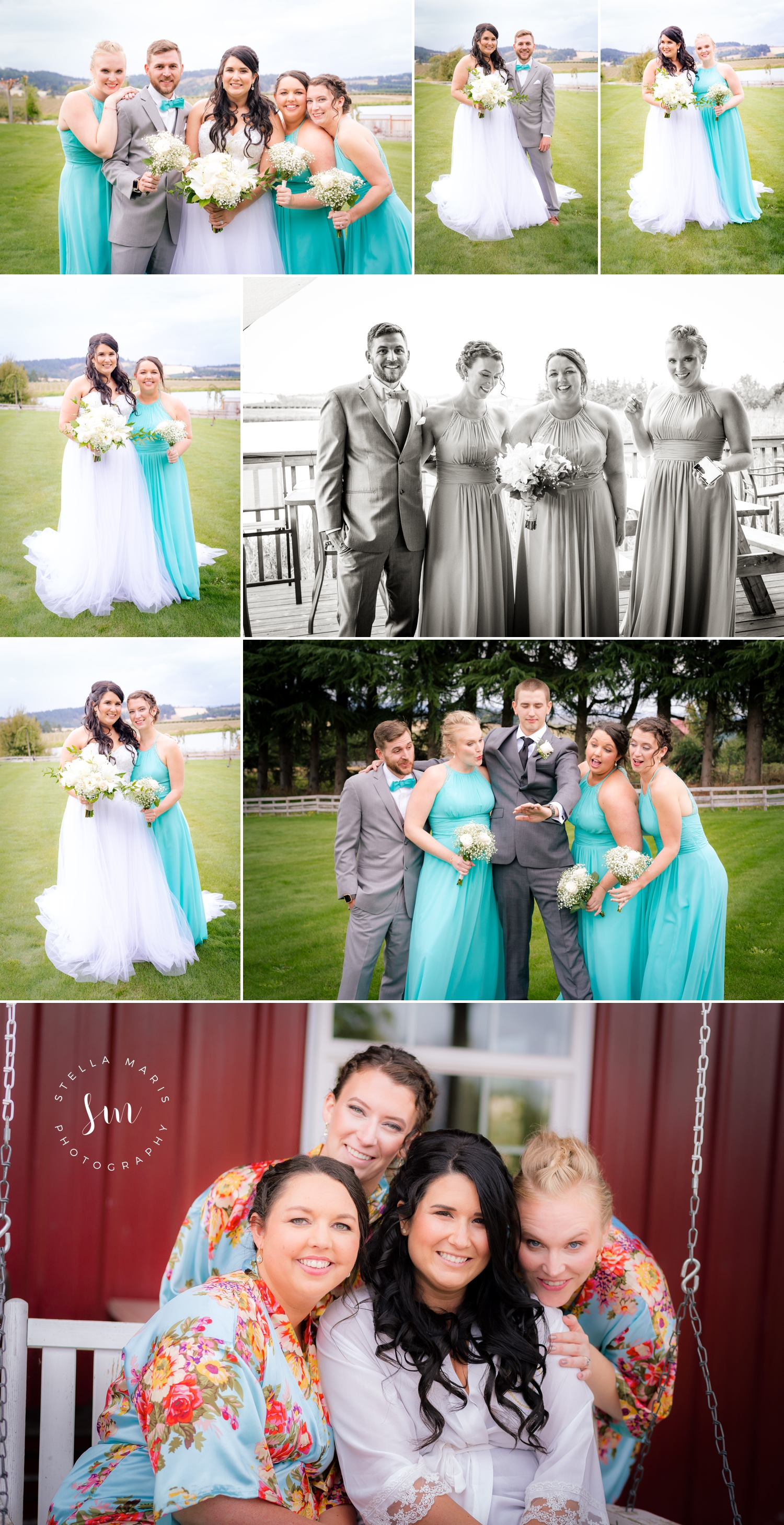 Stella Maris Photography - Wedding Party and Bridal Protrait