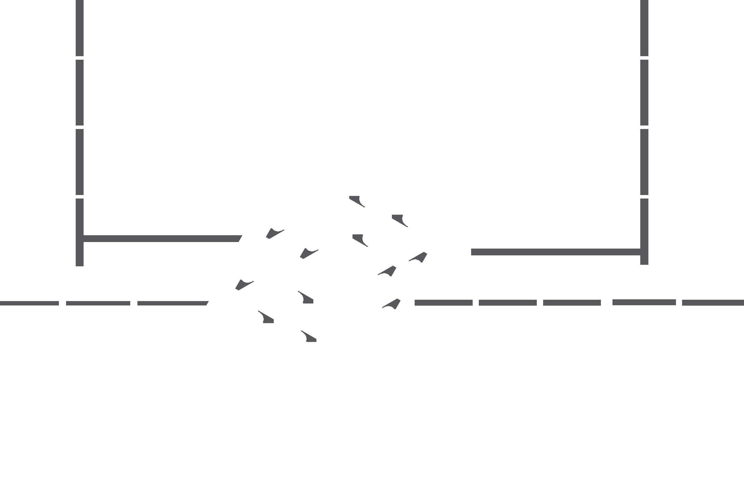 Pedestrian circulation