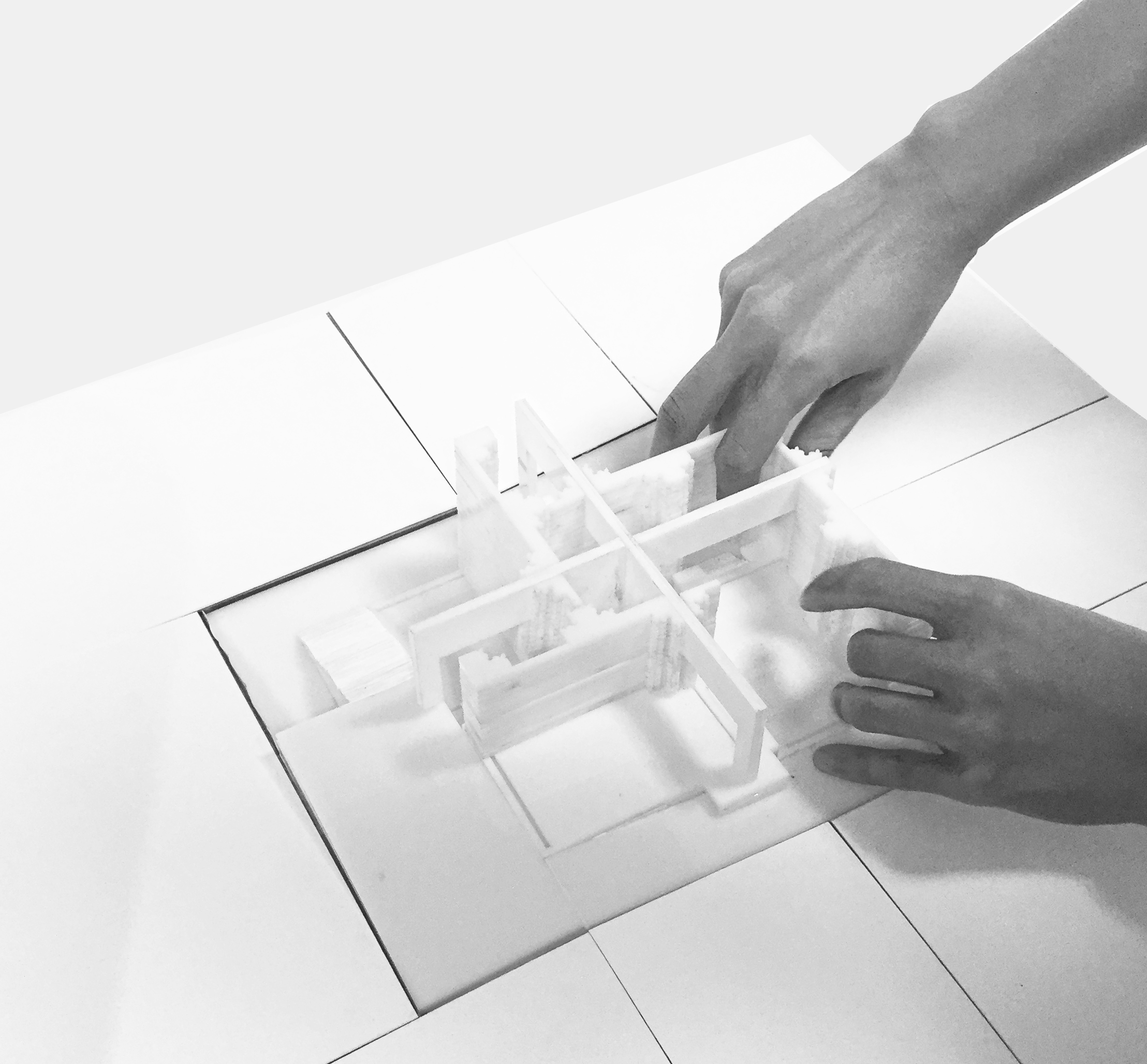 Operable physical model