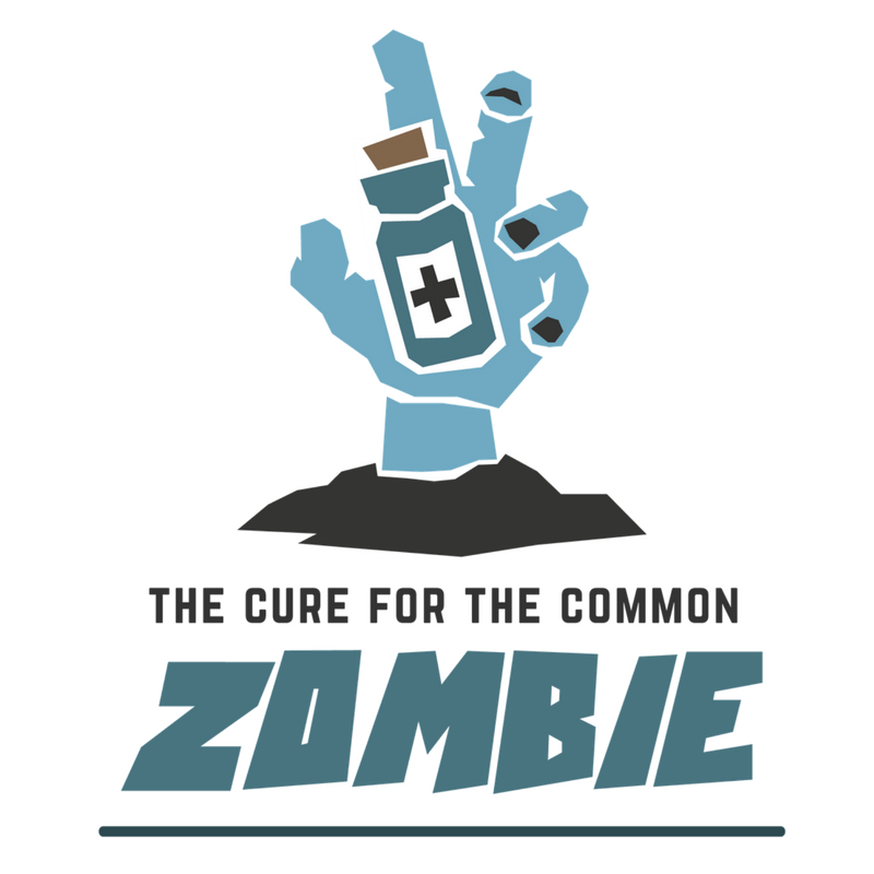 The Cure For The Common Zombie is an adrenaline-filled family friendly game for 3-6 players.