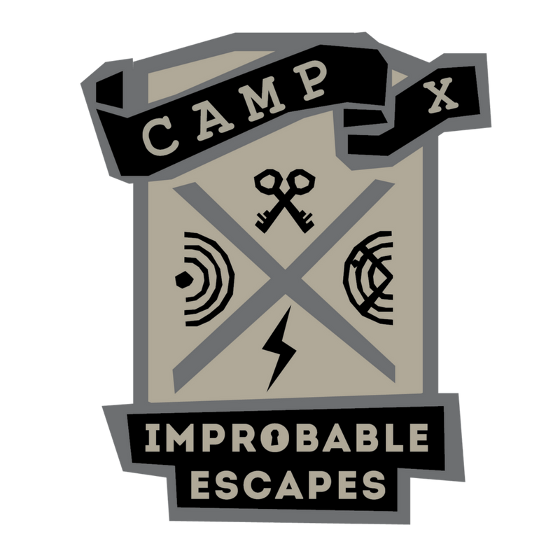 Camp X is a mission-based family friendly game located at the Military Communications and Electronics Museum.