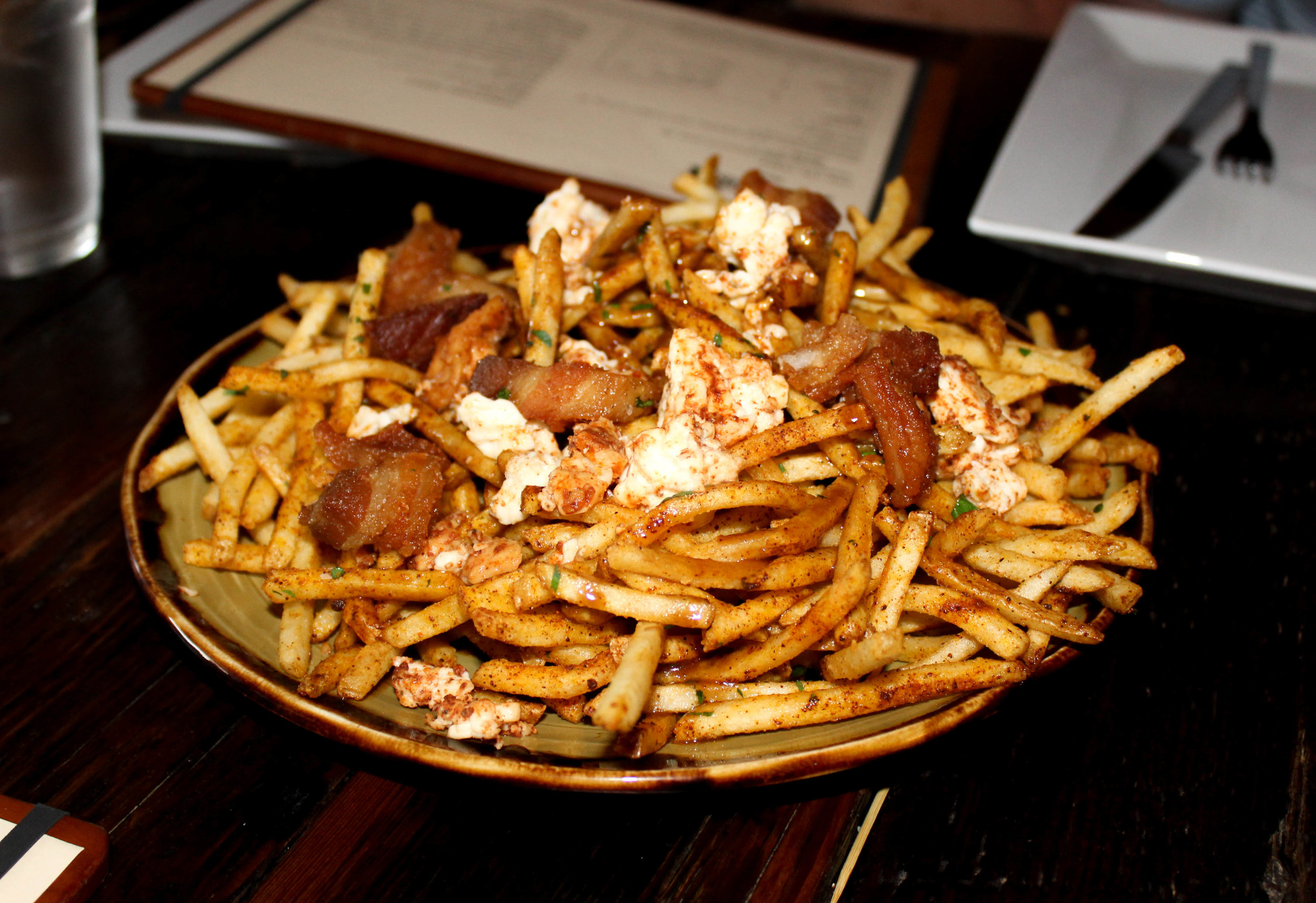Still drooling over these fries...