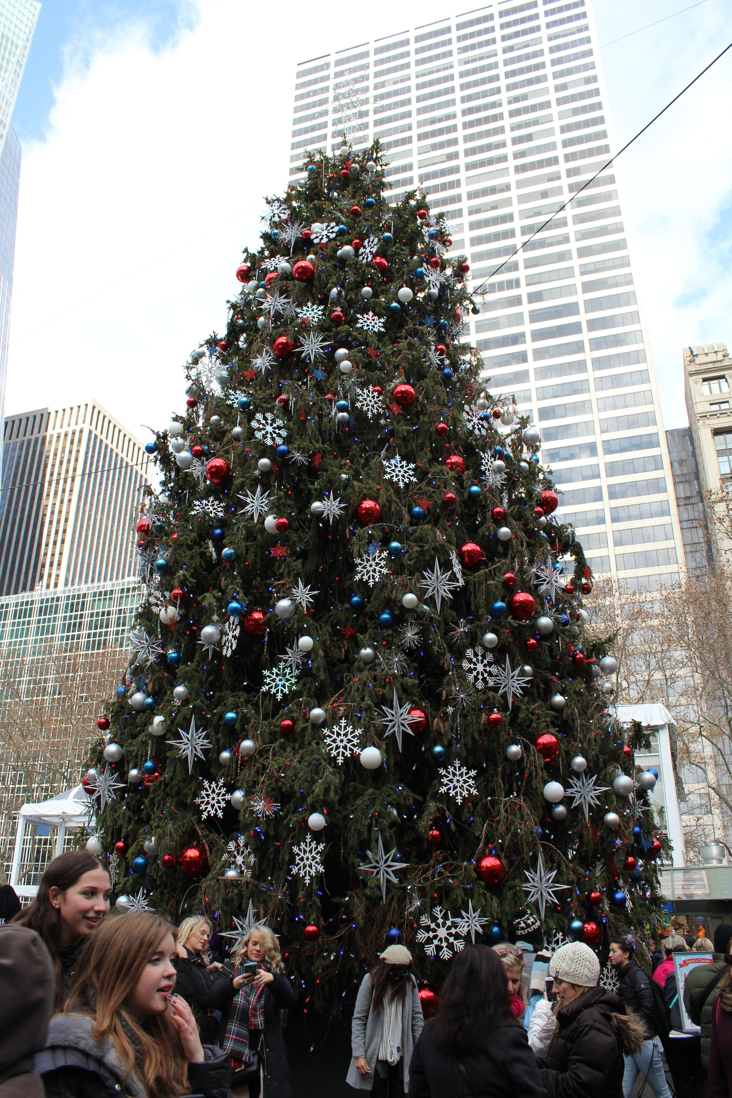 Bryant Park Winter Village Christmas Tree