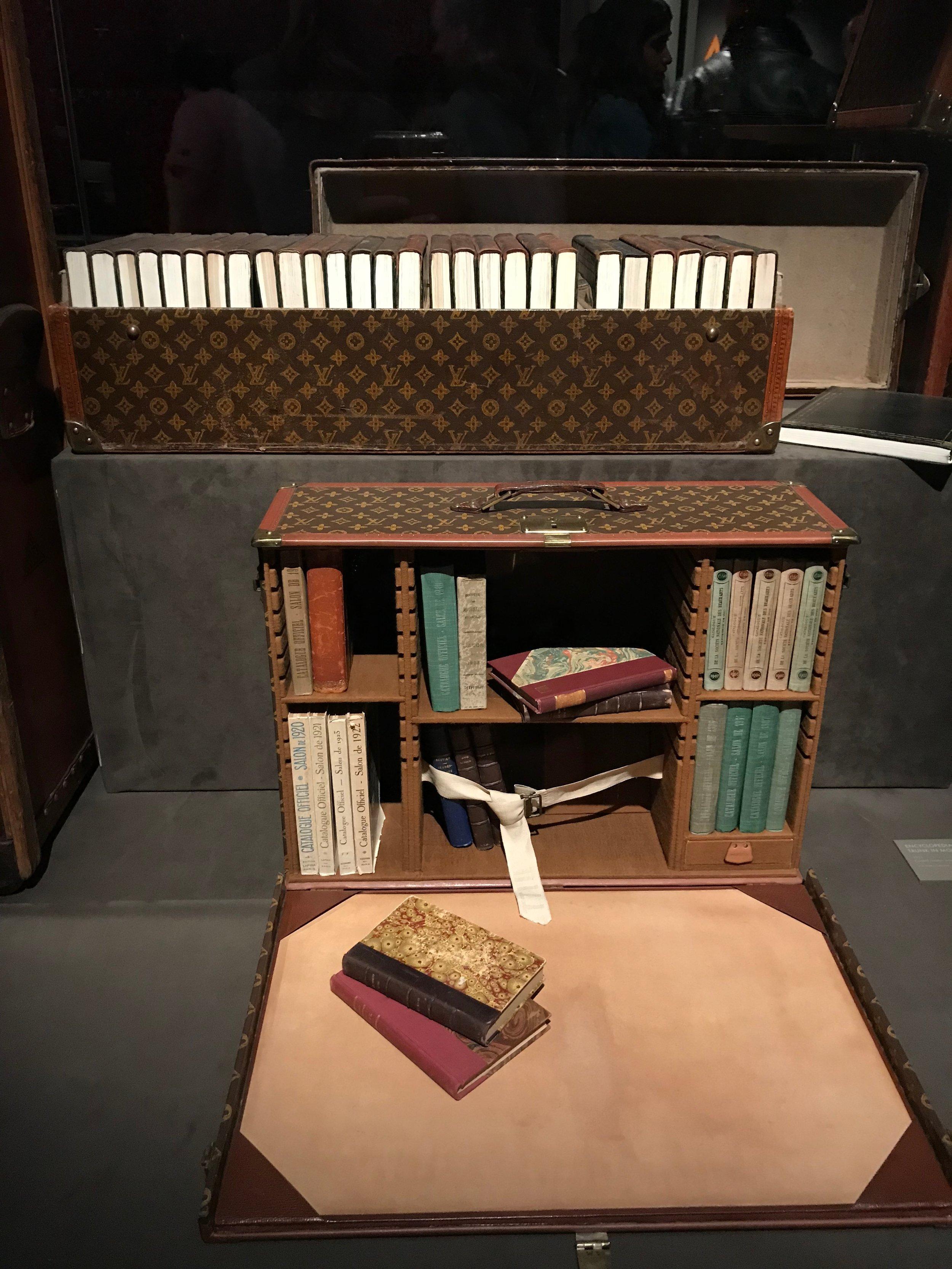 Louis Vuitton book trunk