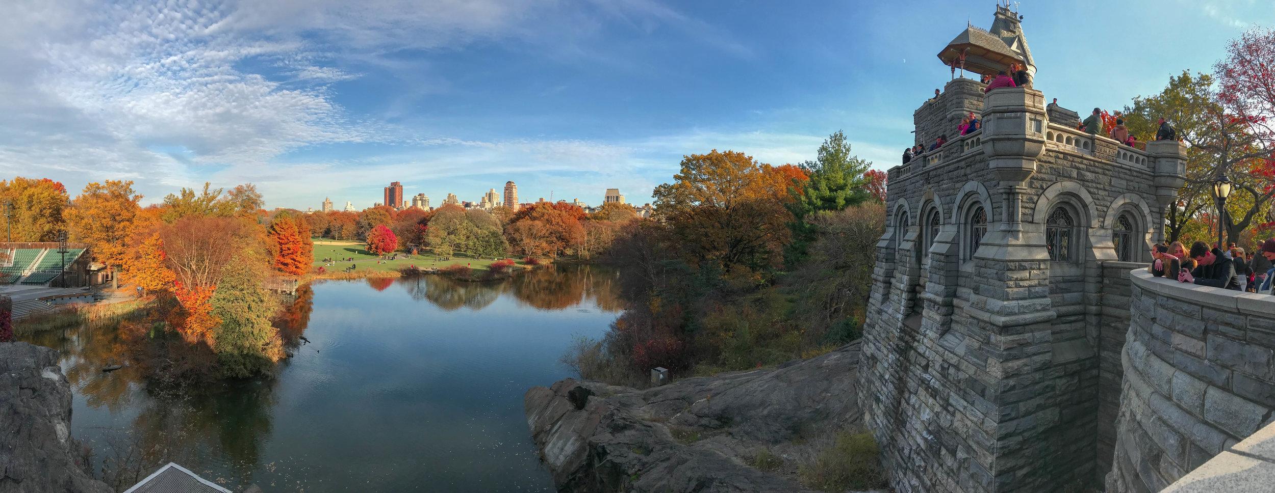 Belvedere Castle, Central Park, NYC