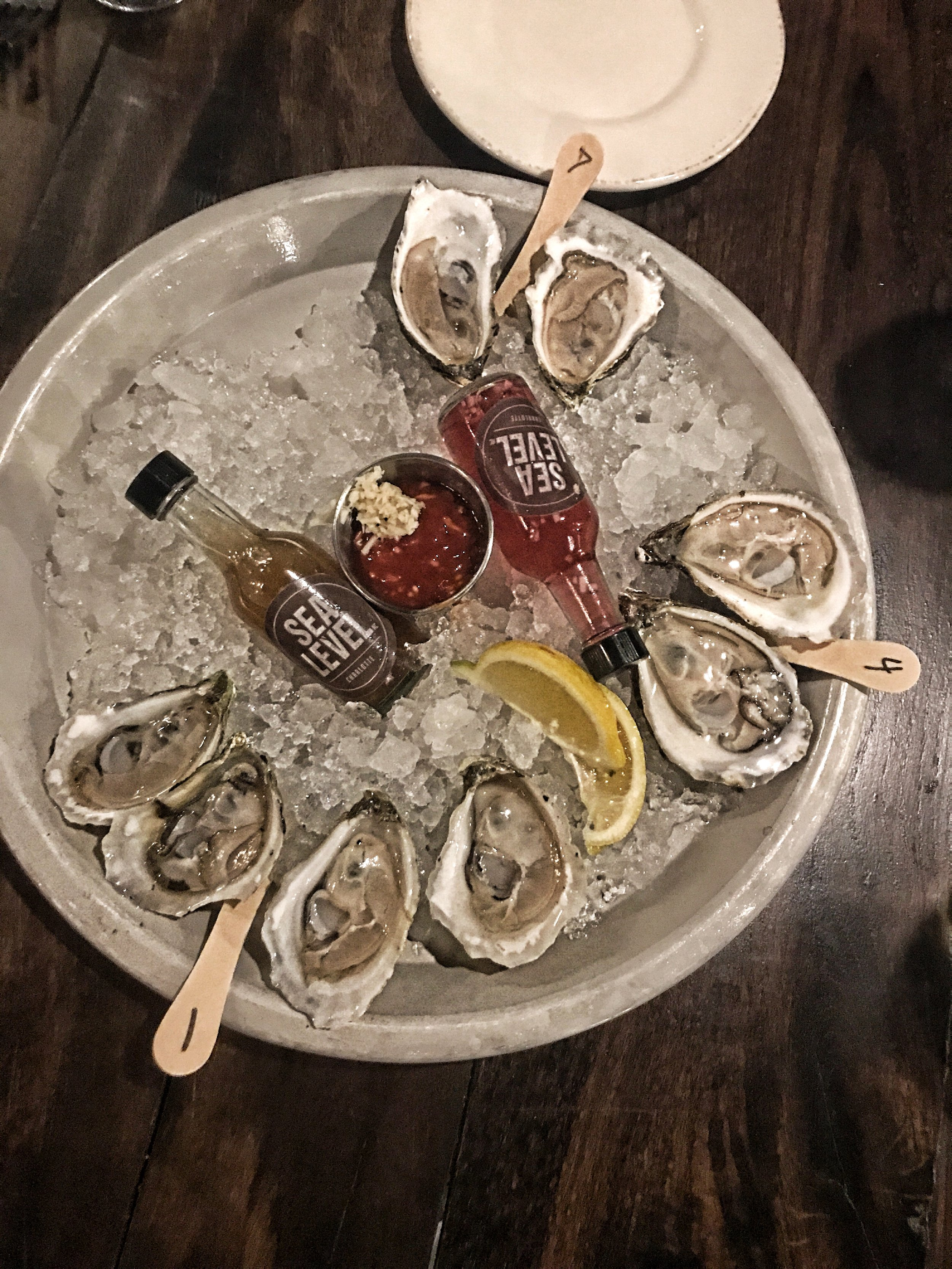 Oysters, Sea Level