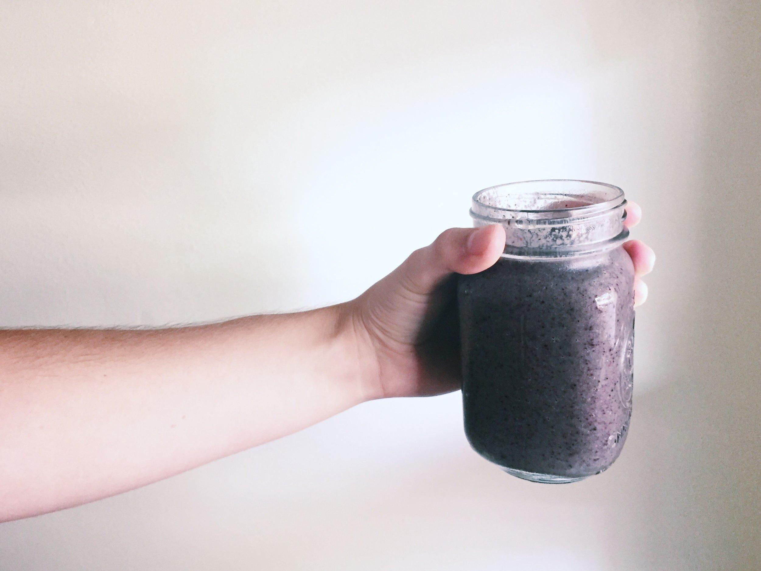 zucchini blueberry smoothie