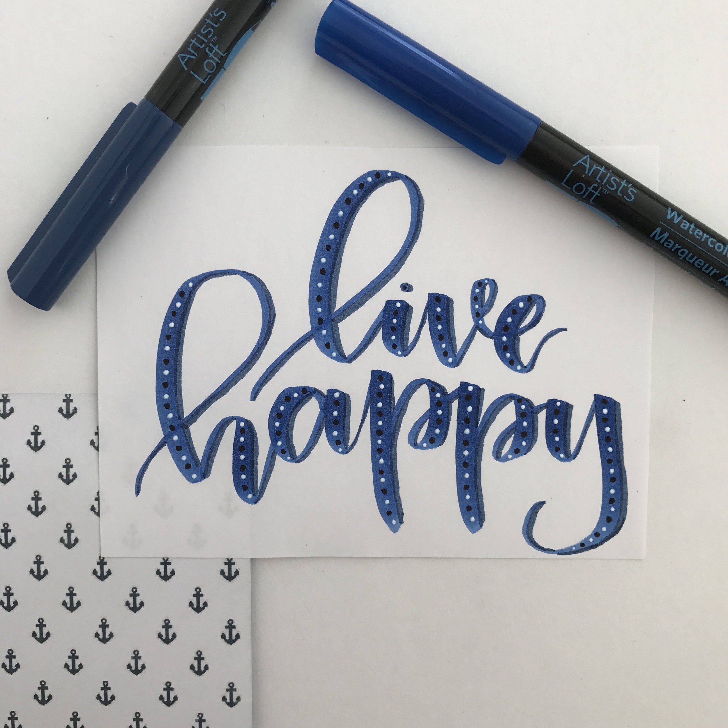 How To: Editing Calligraphy Photos For Instagram | whitelilylettering.com