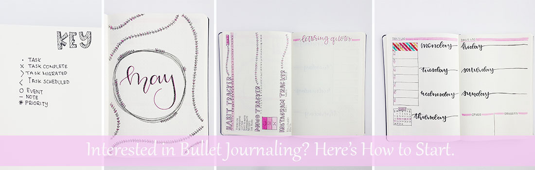 Interested in Bullet Journalling? Here's How to Start! whitelilylettering.com