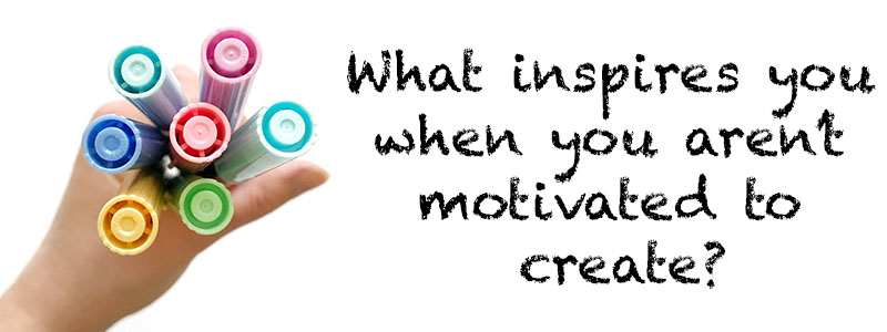 What inspires you when you aren't motivated to create? whitelilylettering.com