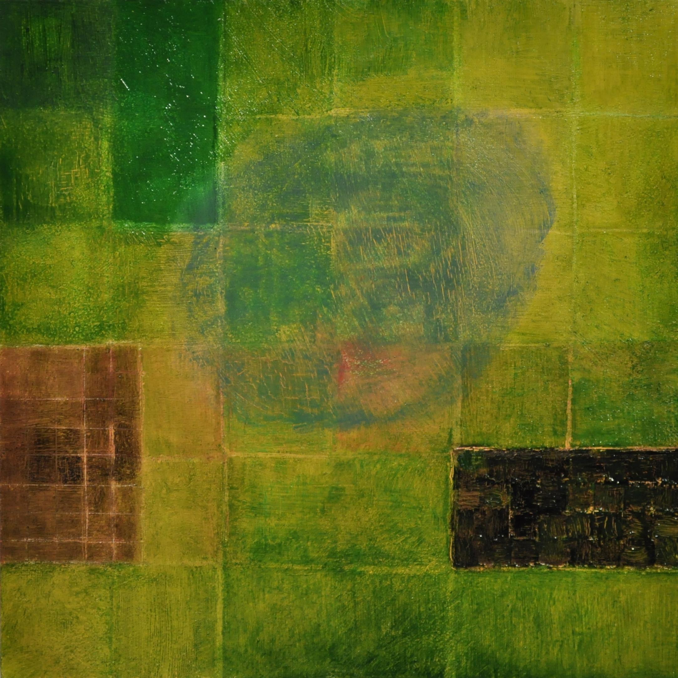 over mound, 2017 oil on wood panel, 15.2 x 15.2 cm