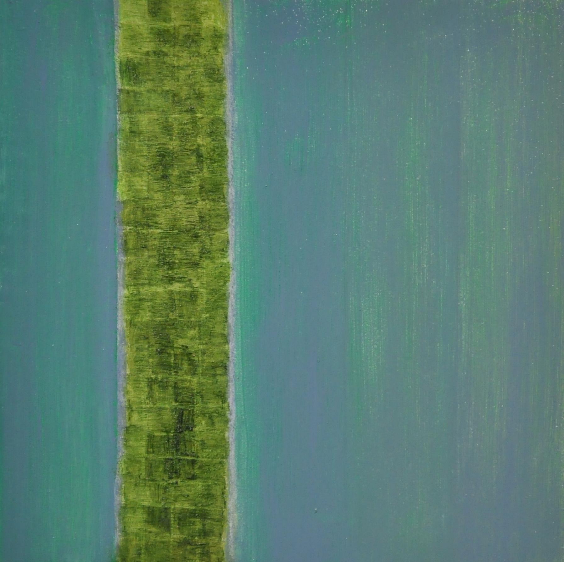 ribbon, 2016 oil on wood panel, 12.5 x 12.5 cm