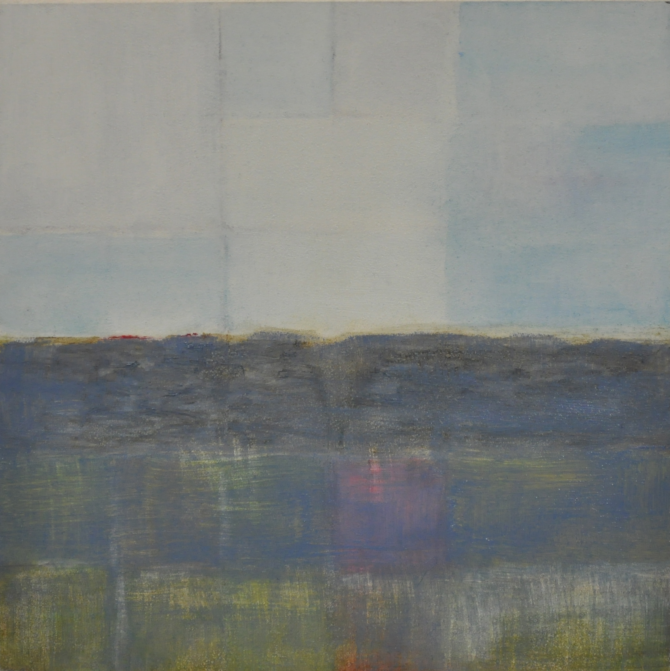 toil, 2016 oil on wood panel, 15.2 x 15.2 cm