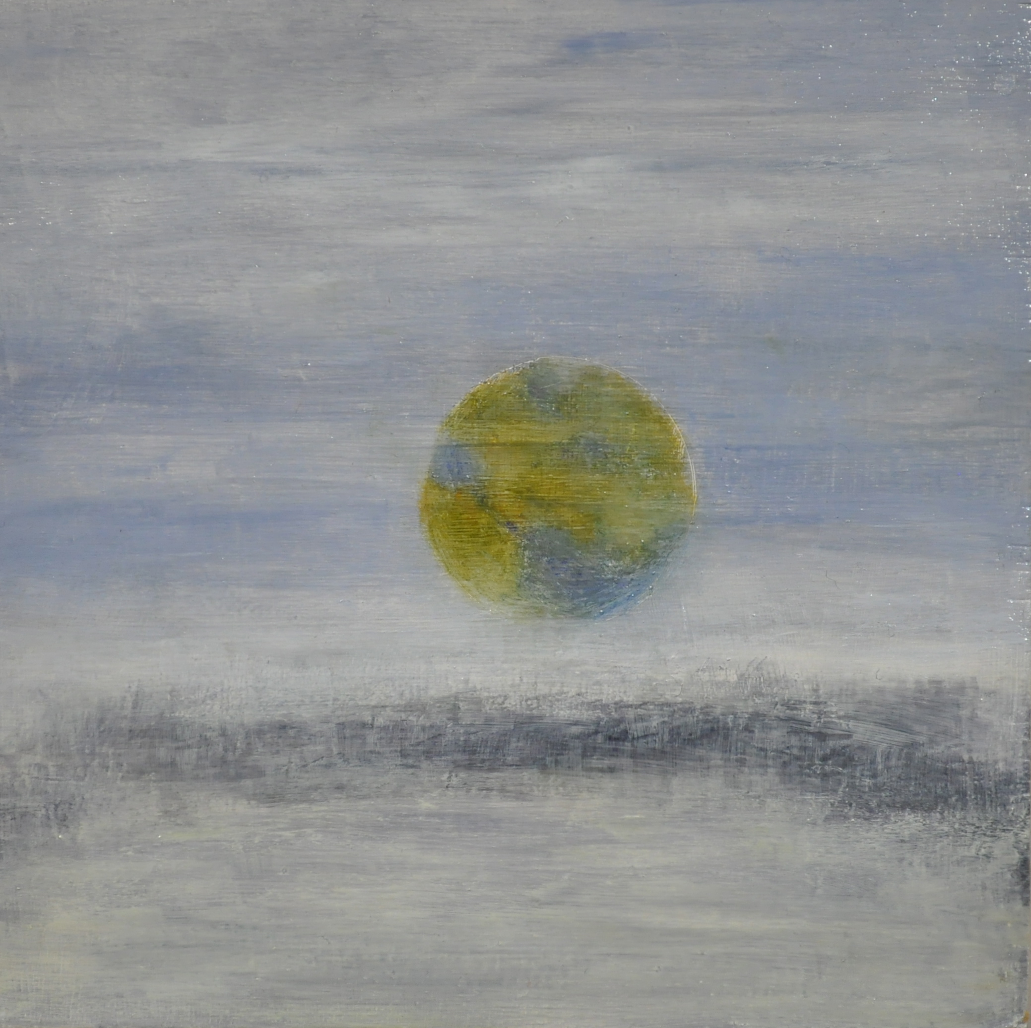 viewed, 2017  oil on wood panel, 15 x 15 cm
