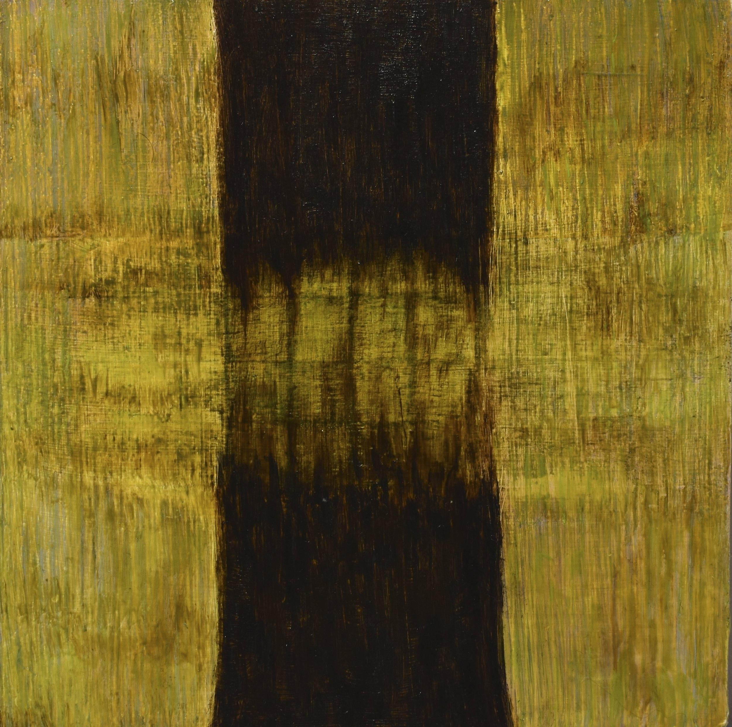 splinter, 2017 oil on wood panel, 12.5 x 12.5 cm
