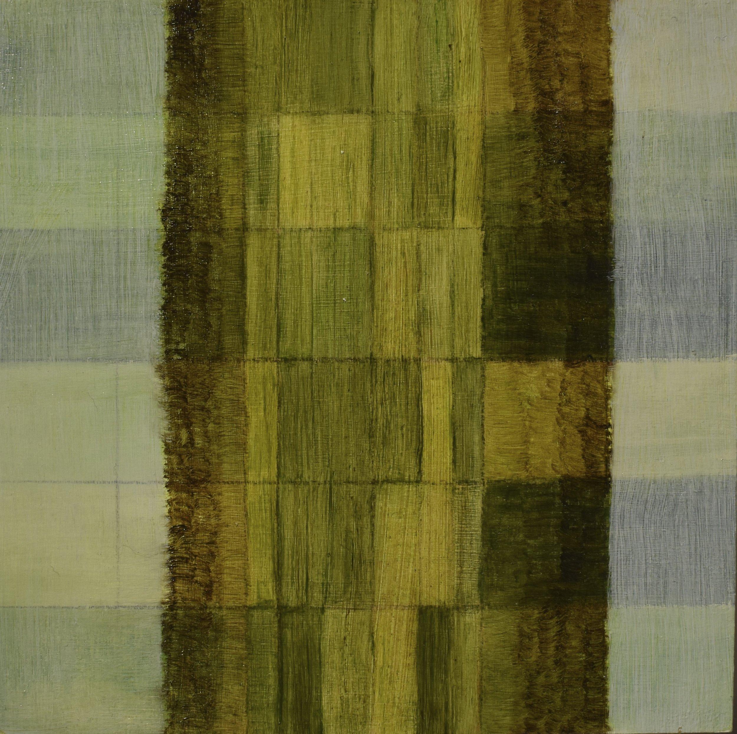 tillage, 2017 oil on wood panel, 15 x 15 cm